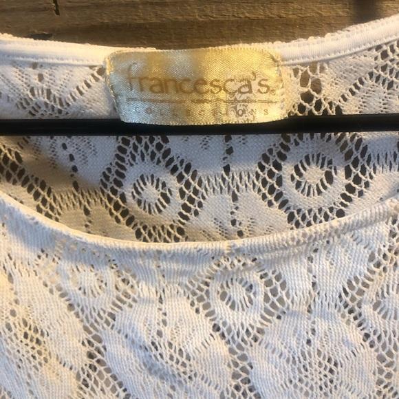 Francesca's Collections Tops - Francesca's Lace Top
